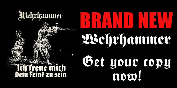Brand new Wehrhammer stuff! Order your copy now!