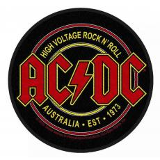 AC/DC - High Voltage Rock n Roll Patch
