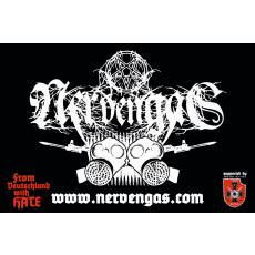 Nervengas - Logo PVC-Banner