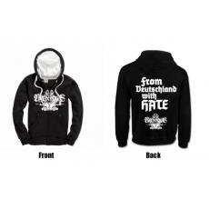 Nervengas - From Deutschland with hate | Hooded-Zipper