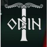 Odin mit Irminsul (Autoaufkleber)