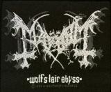 Mayhem - Wolfs Lair Abyss (Aufnäher)