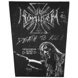 Ad Hominem - Death To All (Backpatch)