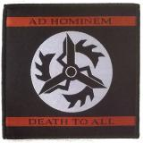 Ad Hominem - Death To All (Patch)