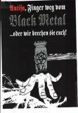 Antifa, Finger weg vom Black Metal !