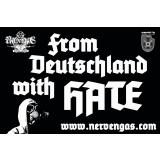 Nervengas - From Deutschland with hate PVC-Banner